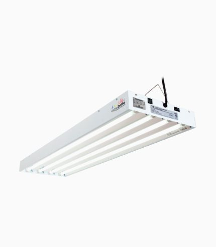 Agrobrite T5 216W 4' 4-Tube Fixture With Lamps