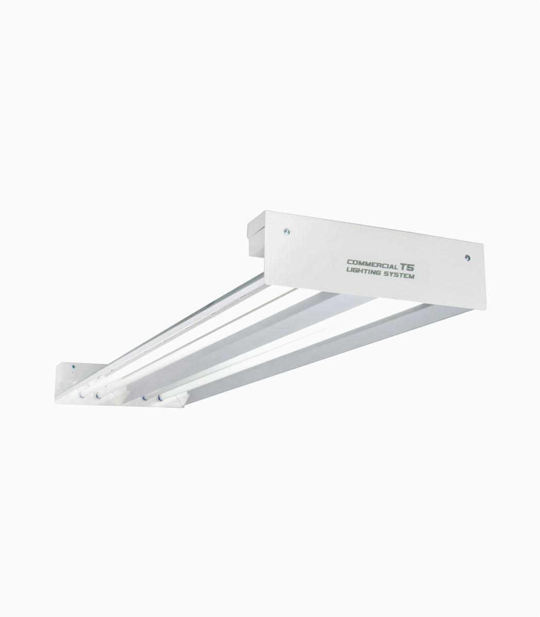 Quantum T5 216W 4' 4-Tube Fixture No Lamps