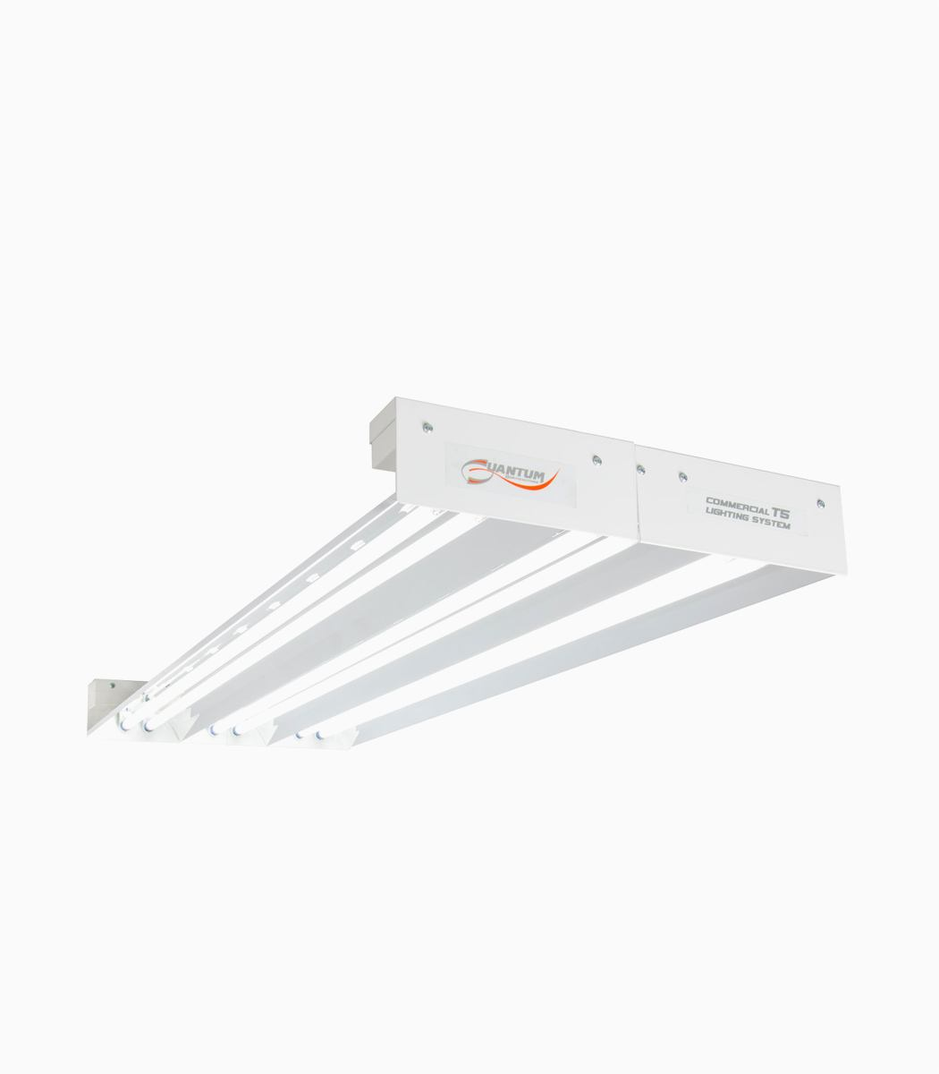 Quantum T5 324W 4' 6-Tube Fixture No Lamps