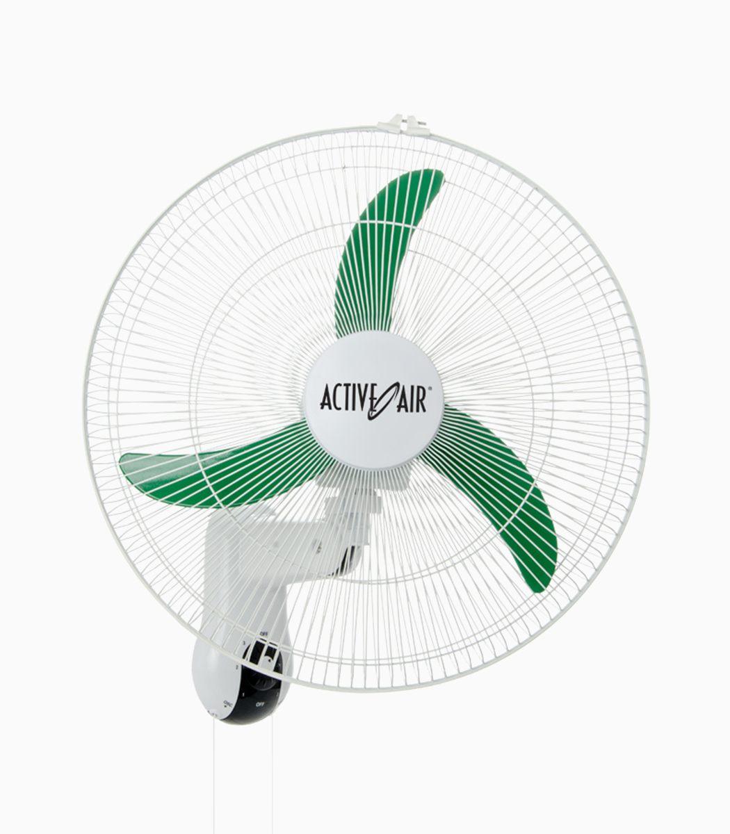 18 Oscillating Wall Fans : Active air quot oscillating wall mount fan greenlightsdirect