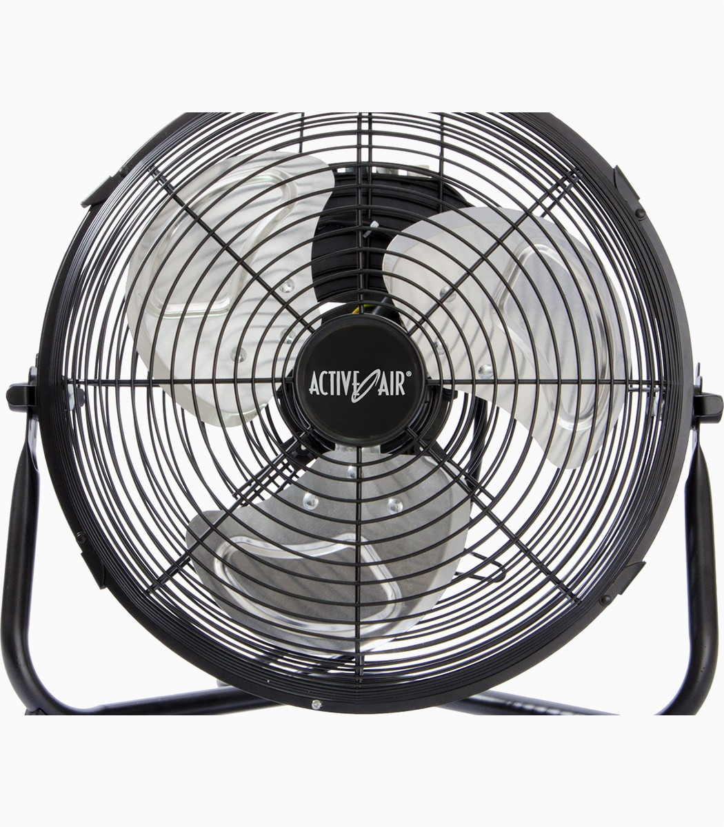 Floor Fans With Light : Active air hd floor fan quot greenlightsdirect