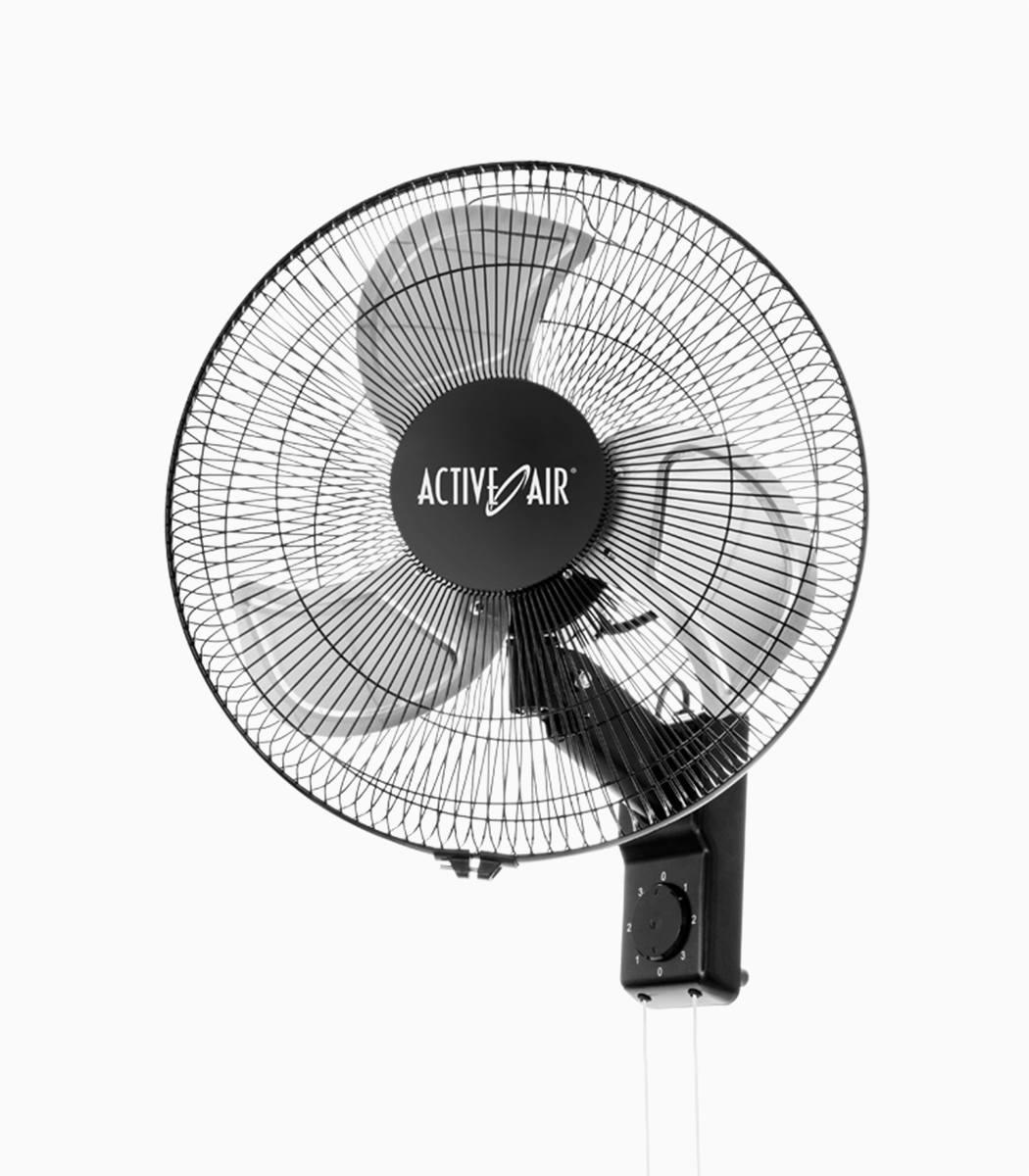 Airplane Wall Mounted Fan : Active air heavy duty quot metal wall mount fan